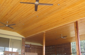 Lined Ceiling